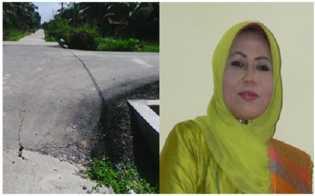 LSM KPK Menduga Istri Bupati Siak Atur Proyek APBD 2013