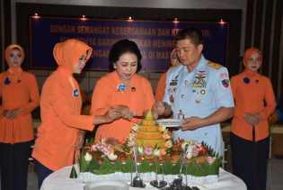 Syukuran HUT Ke-62 PIA AG di Lanud Rsn