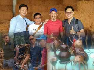 Datang ke Inhil, Perusahaan Singapura Tawarkan Pemasaran Produk Kelapa