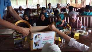 Relawan Jokowi di Inhil Galang Dana untuk Korban Gempa Palu