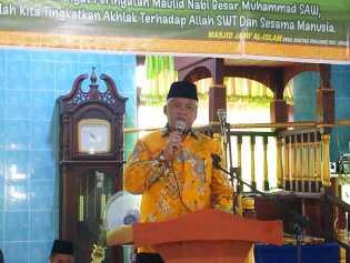 Idris Laena dan Edy Sindrang Hadiri Peringati Maulid Nabi dan Seminar 4 Pilar
