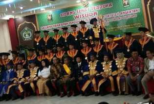 Perguruan Tinggi STIT Ar-Risalah Sungai Guntung Gelar Wisuda Perdana 2017