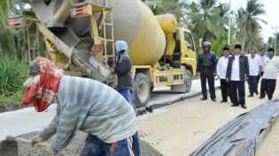 Proyek Preservasi Jalan Nasional di Inhil Segera Dilelang
