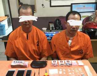 Sering Traknsaksi Narkoba, Dua Pria Diamankan di Jalan M Boya