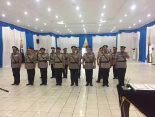 Ini Tugas Baru 9 Pejabat Polda Riau Usai Dilantik