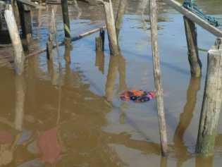 Mayat Perempuan Ditemukan Mengapung di Perairan Sungai Laut Inhil