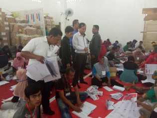 Di Kabupaten Inhu, 68.000 Lebih Surat Suara Dapil 4 Tidak Dapat Dipakai