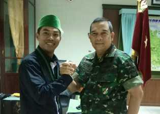 Badko HMI Riau Kepri Kunjungi Danrem 031 Riau
