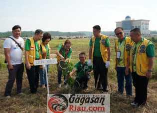 Lions Club Lakukan Penghijauan di Perkantoran Walikota