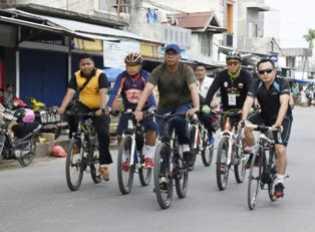 Ikut ''Fun Bike'', Pj Bupati Inhil: Semoga Mampu Membangun Silaturahmi