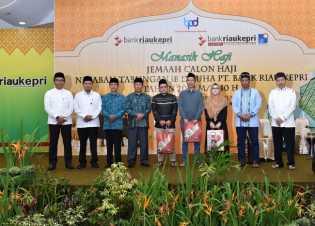 Ratusan JCH Tabungan iB Dhuha Bank Riau Kepri Antusias Ikuti Bimbingan Haji