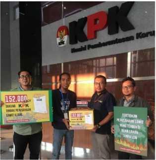 Tak Bayar Pajak, Ratusan Perusahaan Sawit Ilegal di Riau Resmi Dilaporkan ke KPK