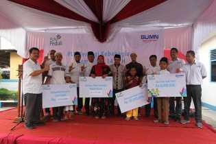 Ini Cara PLN Wilayah Riau Kepri, Berbagi Kebahagiaan Ramadhan di Rokan Hulu