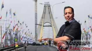 Baut Jembatan Siak IV Dicuri, Dewan Sebut Masih Tanggung Jawab Kontraktor