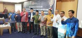Mappilu PWI Riau Hadiri Rakor Pemilu