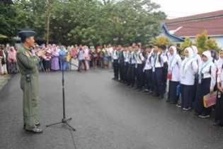 46 Casis dari Lanud Rsn Siap Ikuti Seleksi SMA Pradita Dirgantara