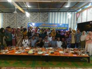 SDM PKH Kampar melaksanakan Rakor, Buka Puasa Bersama dan Santuni Anak Yatim