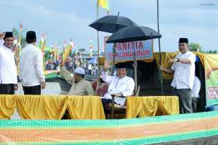 Wardan Bangga Masyarakat Desa Sungai Intan Jadi Pelopor Festival Pompong Hias