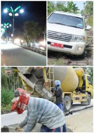 Kaleidoskop: Napak Tilas Pembangunan Jalan Inhil 2014-2017