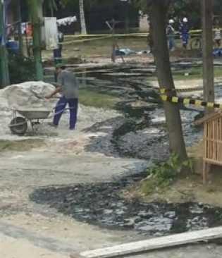Terjadi Kebocoran Pipa Minyak di Desa Bumbung, Ini Penjelasan Pihak Chevron