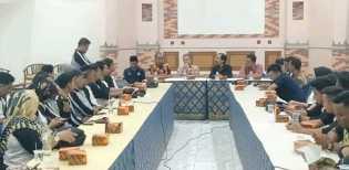 Lokakarya, Diskominfops Inhil Beserta Wartawan Kunjungi Dewan Pers