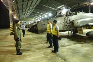 Skadron Udara Lanud Roesmin Nurjadin Kembali Lakukan Latihan Terbang Malam