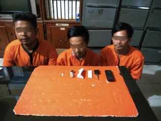 3 Pemuda di Inhil Ini Mabok, Dibekuk Polisi di Jalan Lingkar