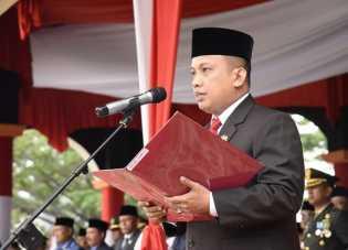 Ketua DPRD Inhil Ajak Masyarakat Pahami Cita - Cita Kemerdekaan