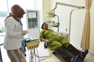 Paslon Pilbup Inhil, Rosman-Musmulyadi Ikut Tes Kesehatan