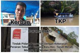 Kapal Motor Ahok Dibajak Kawanan Rampok di Perairan Indragiri