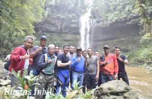 Wisata Tersembunyi Air Terjun 86 Berada di Inhil