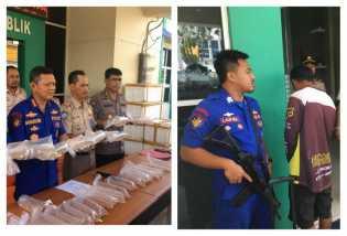 Polair Polda Riau Gagalkan Penyelundupan Bibit Lobster Senilai Rp11 Miliar