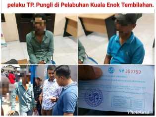 'Tercyduk' Diduga Pungli kepada Penumpang di Pelabuhan Kuala Enok