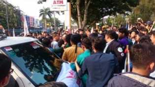BEM SI Datangi DPRD Riau Tolak Pengesahan UU MD3