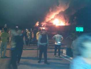 Manfaatkan Situasi Kebakaran, Napi Rutan Siak Kabur