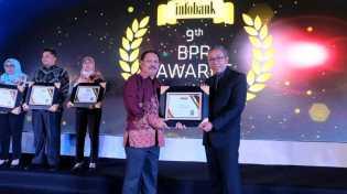 Pemkab Inhil Terima Penghargaan 'Sangat Bagus', Kinerja Keuangan PD BPR Gemilang