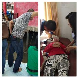 Di Rohil, Rumah Dimasuki OTK, Korban Dilukai Lehernya