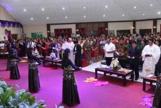 Danlanud: Jadikan Perayaan Paskah Momentum untuk Memuliakan Nama Tuhan