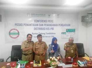 BPJS KC Tembilahan Bentuk Posko