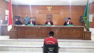Sidang Lanjutan Kasus Pembunuhan Anggota TNI Di Inhil