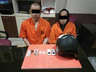 'Nenek Nekat' Transaksi Narkoba di Pengadilan Negeri Tembilahan