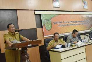 HM Wardan Tekankan OPD Pahami Proses Penyusunan Rencana Strategis Perangkat Daerah