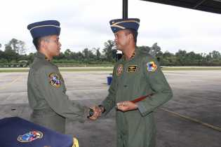 Lettu Pnb Syahrevy Enrico Hawk Eye Dermawan Capai 1000 Jam Terbang