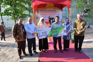 Bank Riau Kepri Wujudkan Peduli Tenaga Kerja Rentan