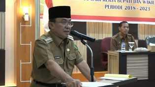 Wardan Pimpin Rapat Rakor PKH Tahap I