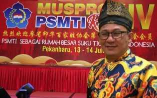 Stephen Sanjaya Secara Aklamasi Terpilih Jadi Ketum PSMTI Riau