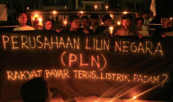 Pemadaman Listrik Oleh PLN Seperti Ancaman Teroris