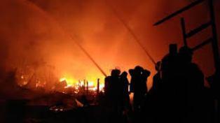 Inhil Kembali Dilanda Kebakaran, 5 Unit Rumah Ludes Jadi Abu