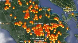 Jumlah Hotspot di Riau Kembali Menunjukkan Gejala Naik
