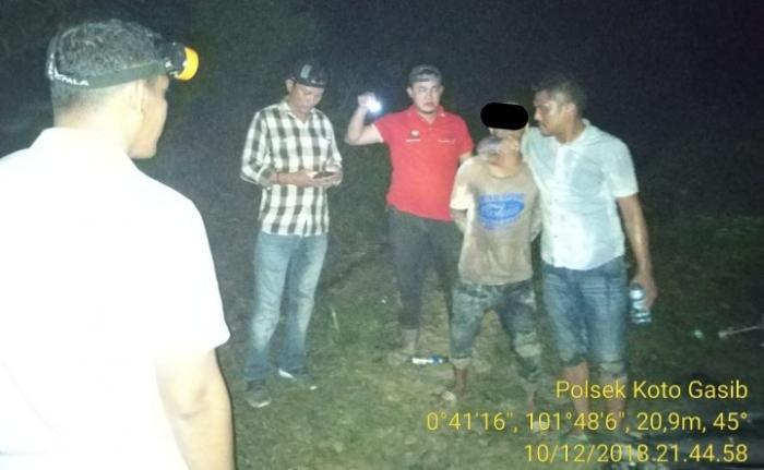 Pengedar Sabu Diringkus Aparat di Jalan Lintas Pertamina, Satu orang Kabur
